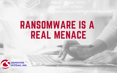 Ransomware is a Real Menace